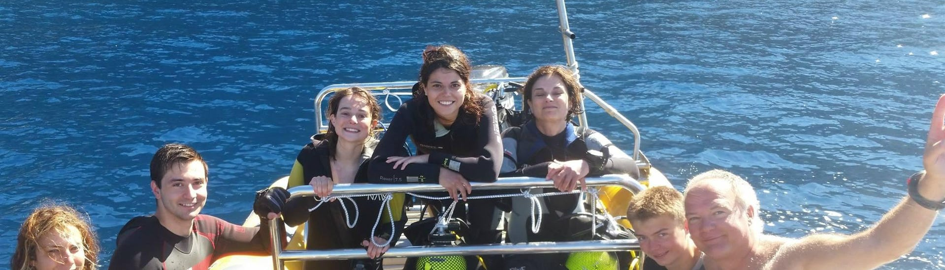 Guided Boat Dives in Faial