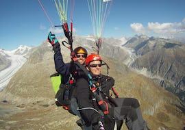 Tandem Paragleiten über die Aletsch Arena - High Fly