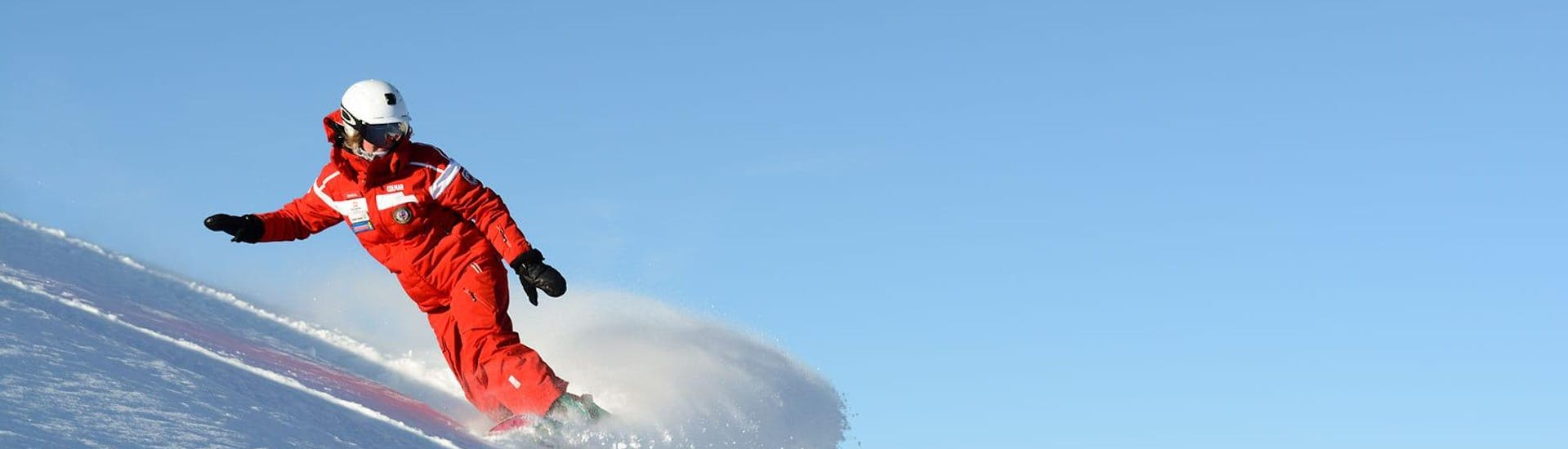 Snowboarding Lessons for Kids & Adults of All Levels with Ski and Snowboard School Selva Val Gardena - Hero image