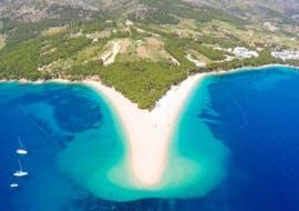 Sortie en bateau privée de Ville de Hvar à Zlatni Rat - Golden Horn Beach avec Baignade & Observation de la faune