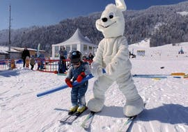 "Ski Lessons for Kids (2-3 years) ""Hubsi's Trial Course"""