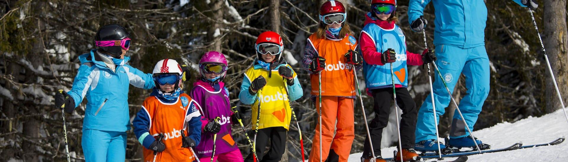 Kids Ski Lessons (4-13 years) - February
