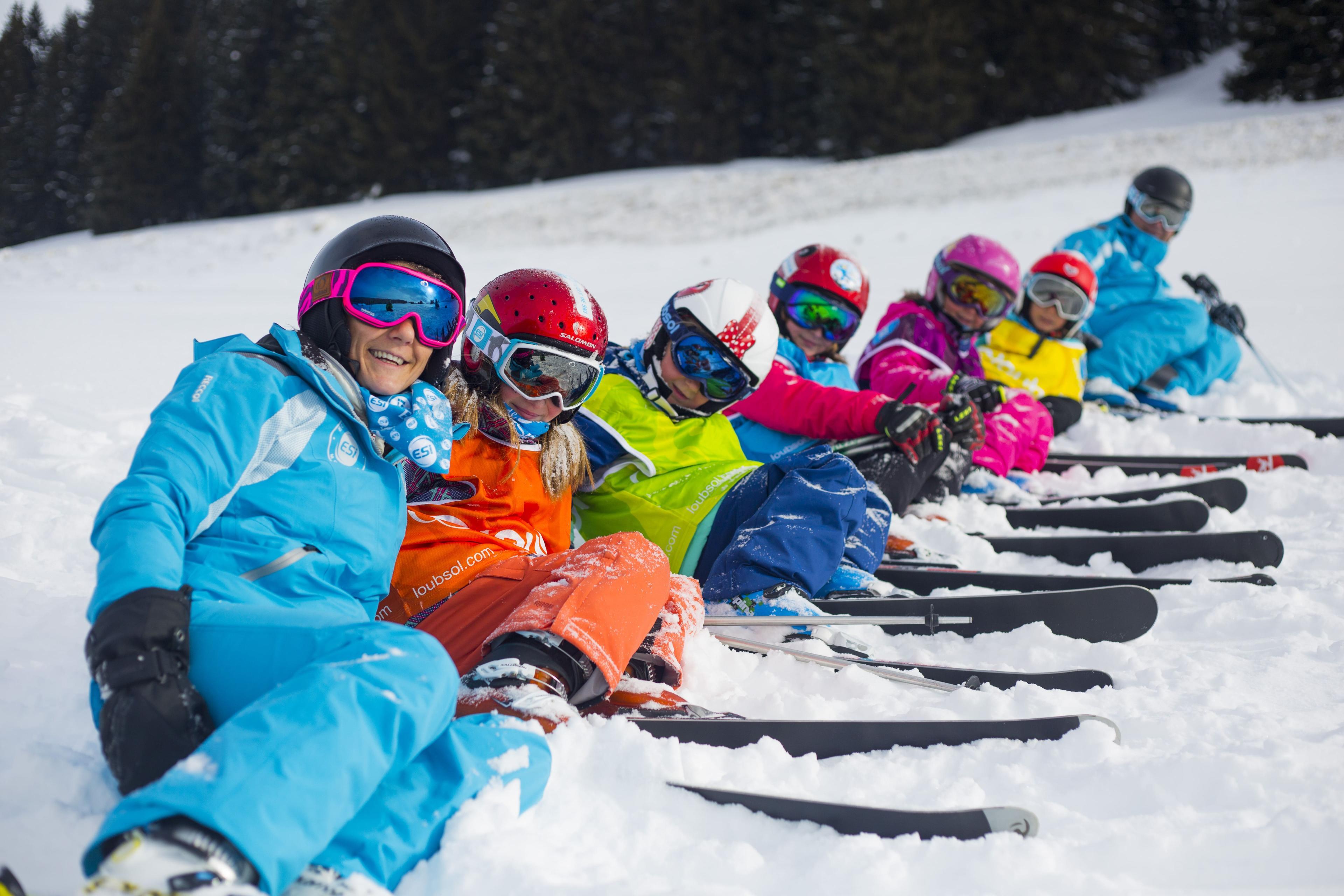 Cours de ski Enfants (5-17 ans) pour Tous niveaux - A-midi