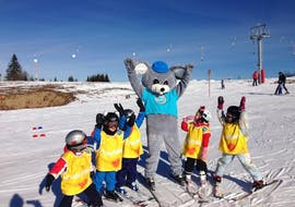 Kids Ski Lessons (4-6 y.) - Holidays with ESI La Clusaz