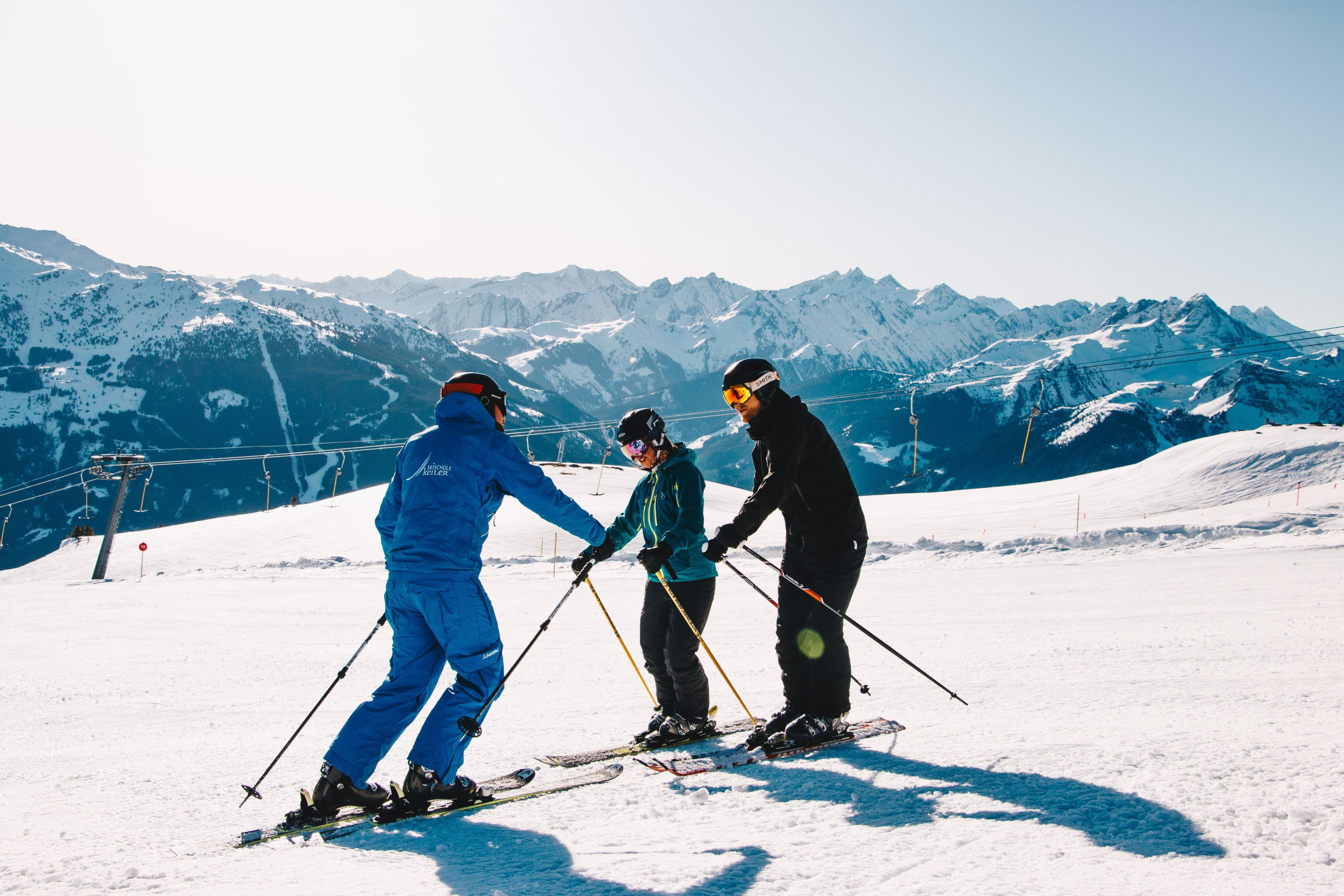 Privé skilessen voor volwassenen van alle niveaus
