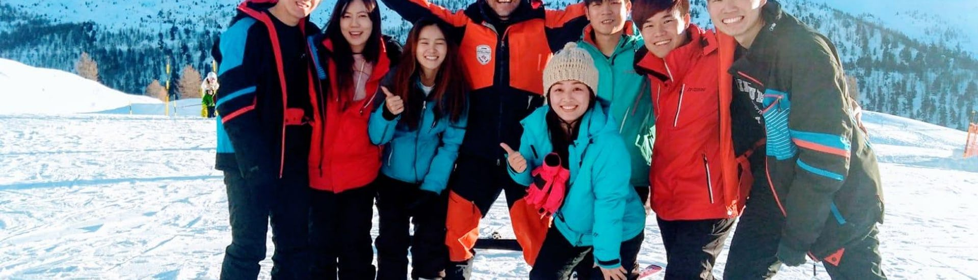 """Ski Instructor Private for Adults """"Halfday"""" - All Levels"""
