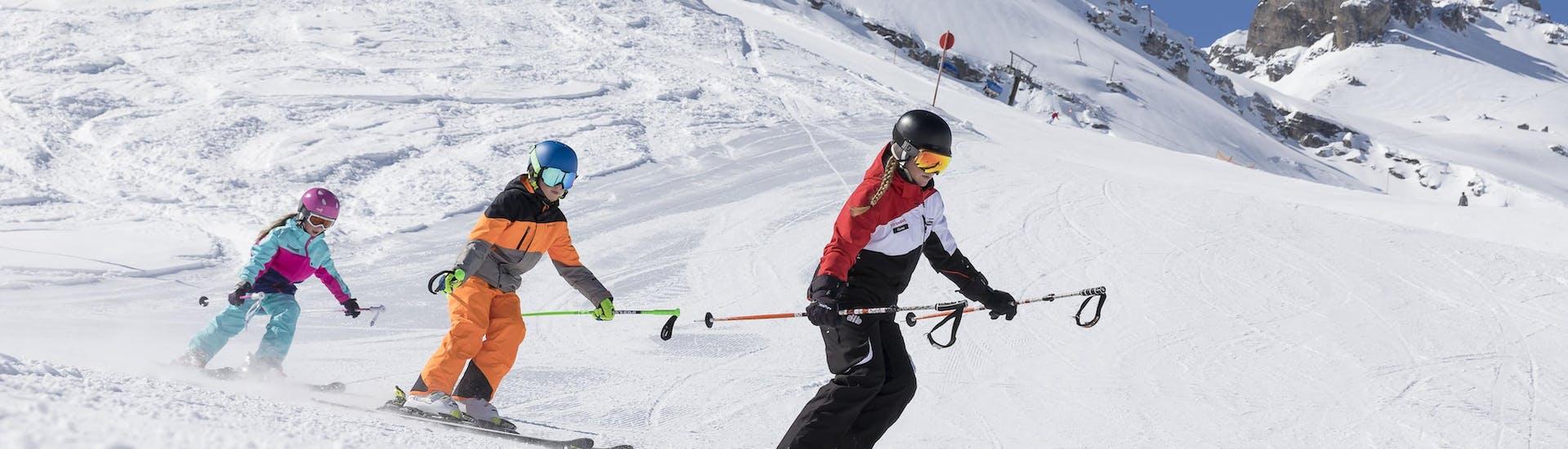 Cours de ski Enfants - Expérimentés avec Skischule Stubai Tirol - Hero image