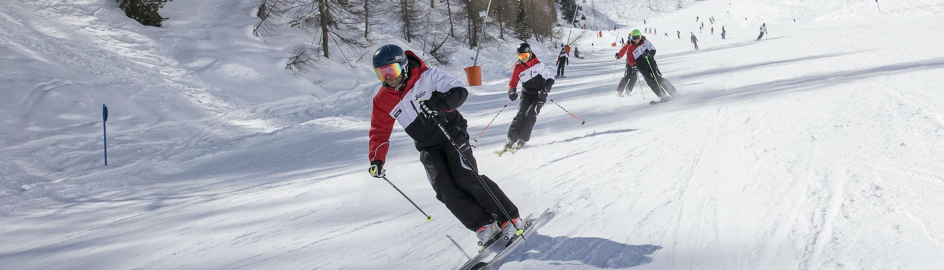 Adult Ski Lessons for Advanced Skiers