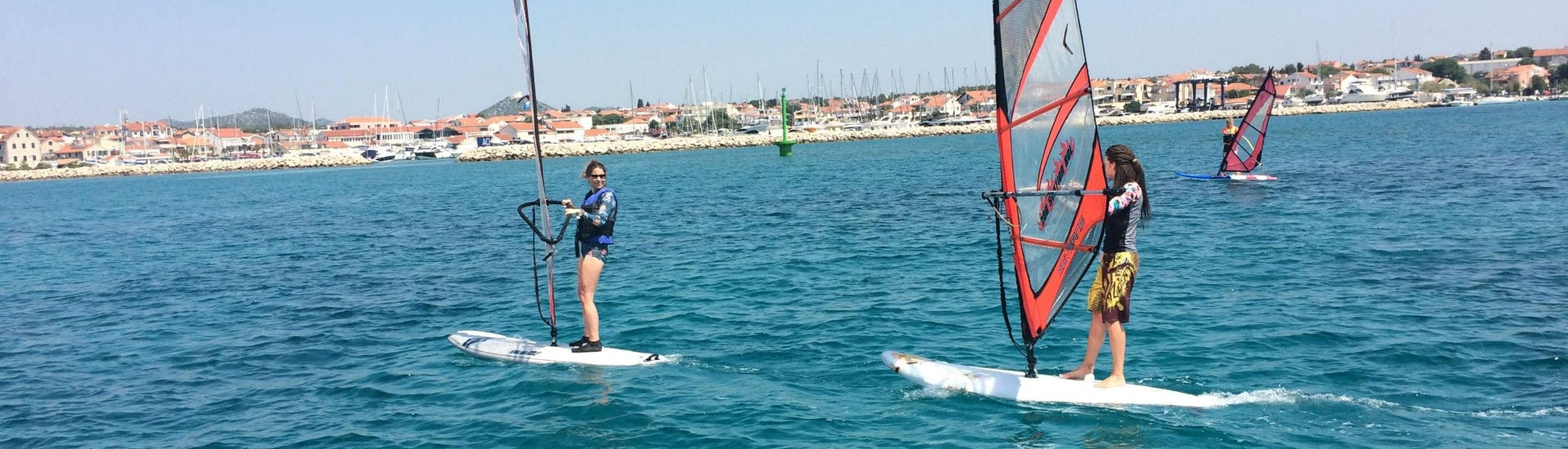 Private Windsurfing Lessons for All Ages - All Levels