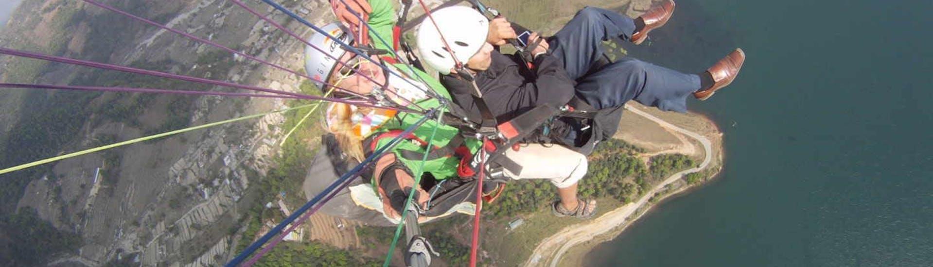 "Tandem Paragliding ""Lake Flight"" - Lazio"