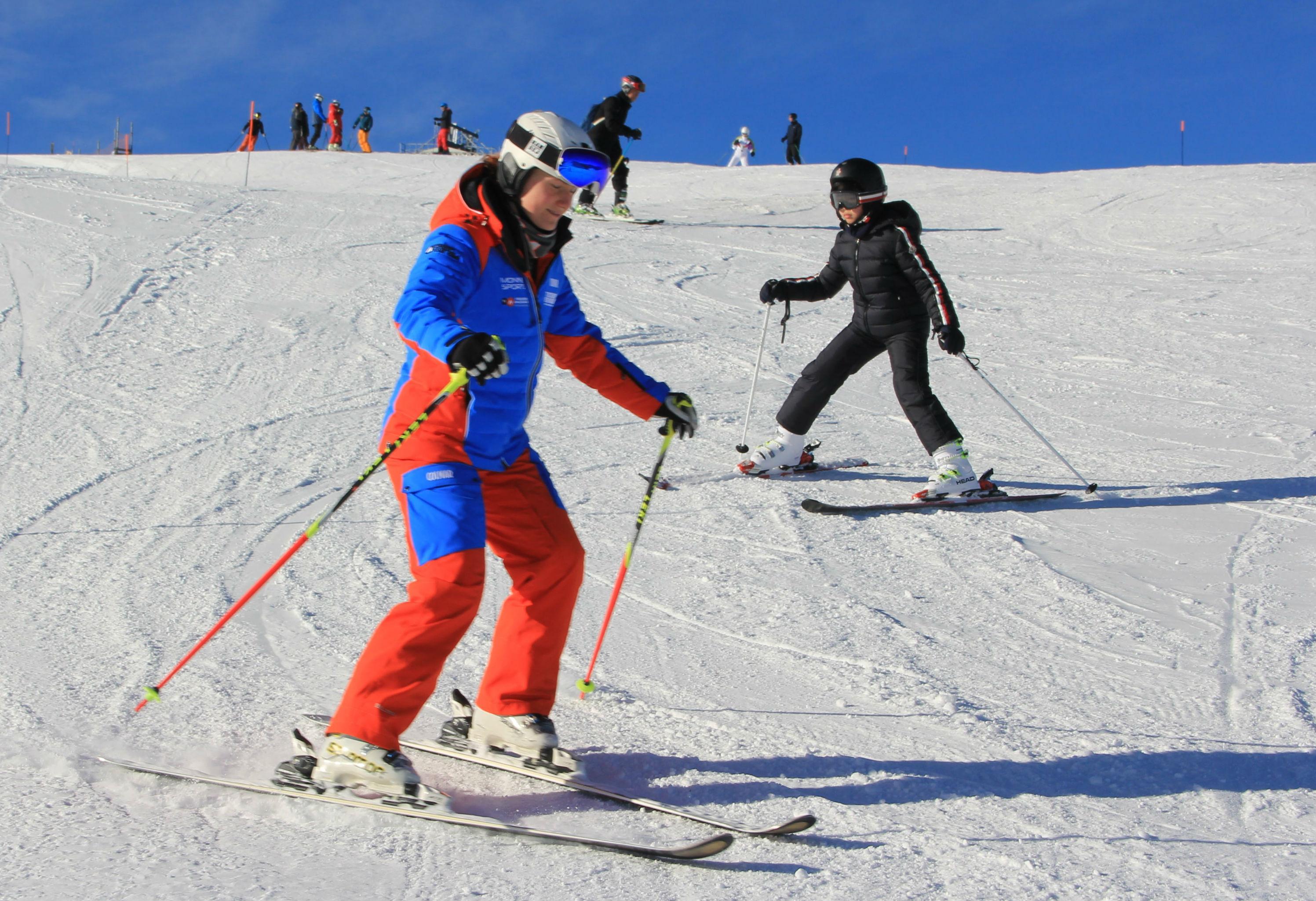 Privé skilessen voor kinderen - beginners