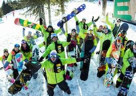 Snowboardkurs für Kinder & Erwachsene für Fortgeschrittene