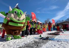"""Skilessen voor kinderen """"Bambini"""" (3-4 j.) - Ochtend - MAX6 met Skischool Lermoos Snowpower"""