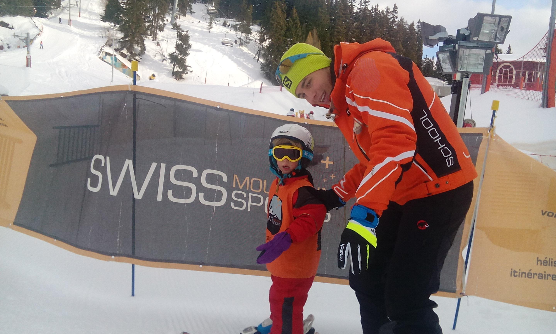 Cours de ski Enfants (3-6 ans) - Max 5 - Crans