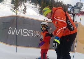 Skilessen voor kinderen vanaf 3 jaar voor alle niveaus met Swiss Mountain Sports Crans-Montana