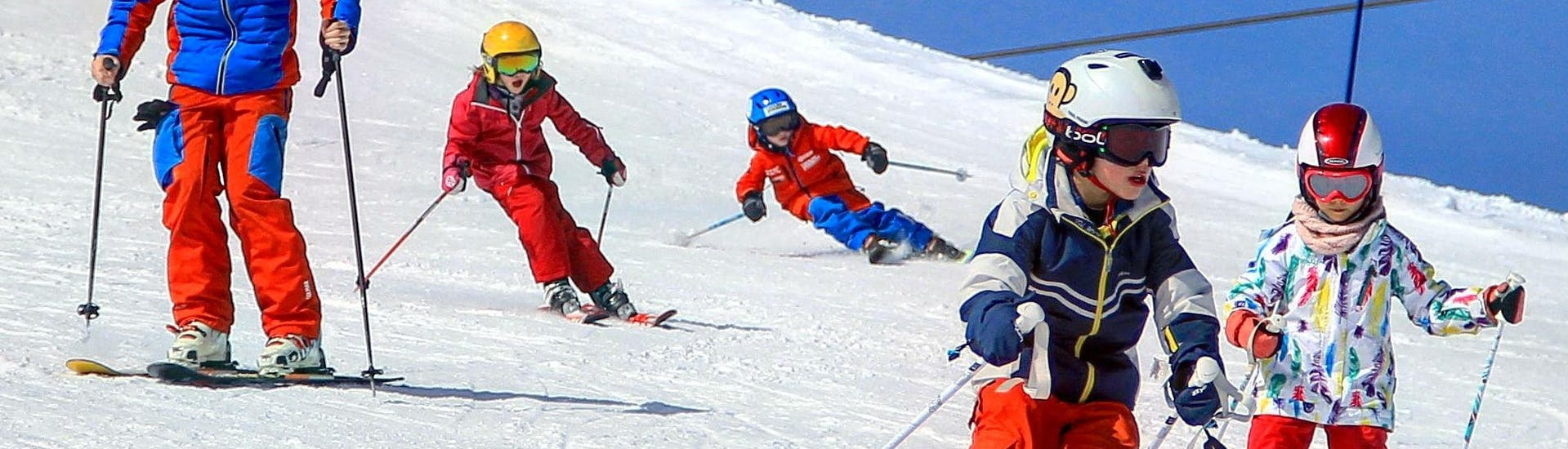 Kids Ski Lessons (4-15 y.) for All Levels