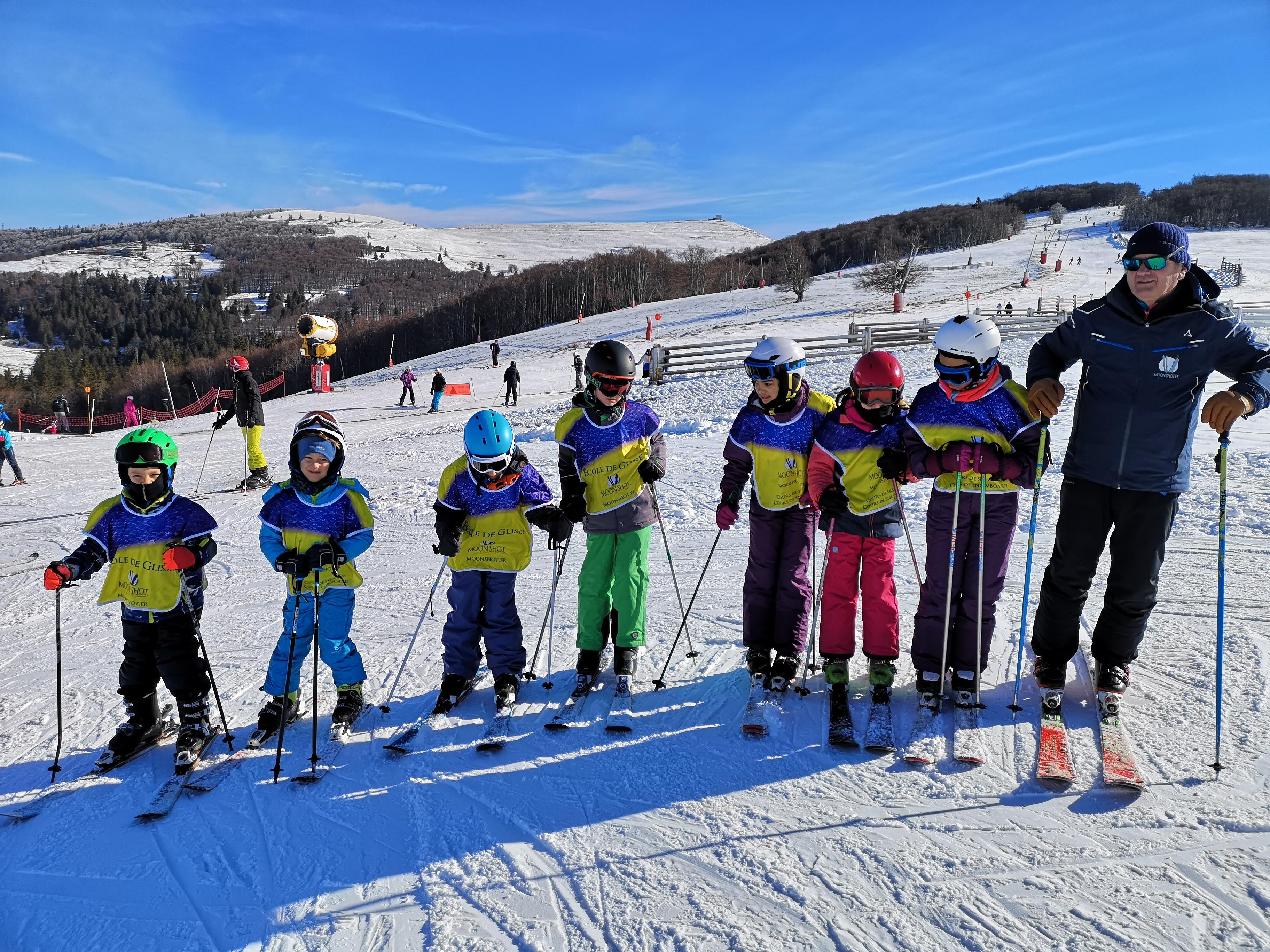 Lezioni di sci per bambini a partire da 5 anni per avanzati