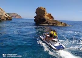 Randonnée en jet ski depuis Cala Bona avec Grottes & Plages