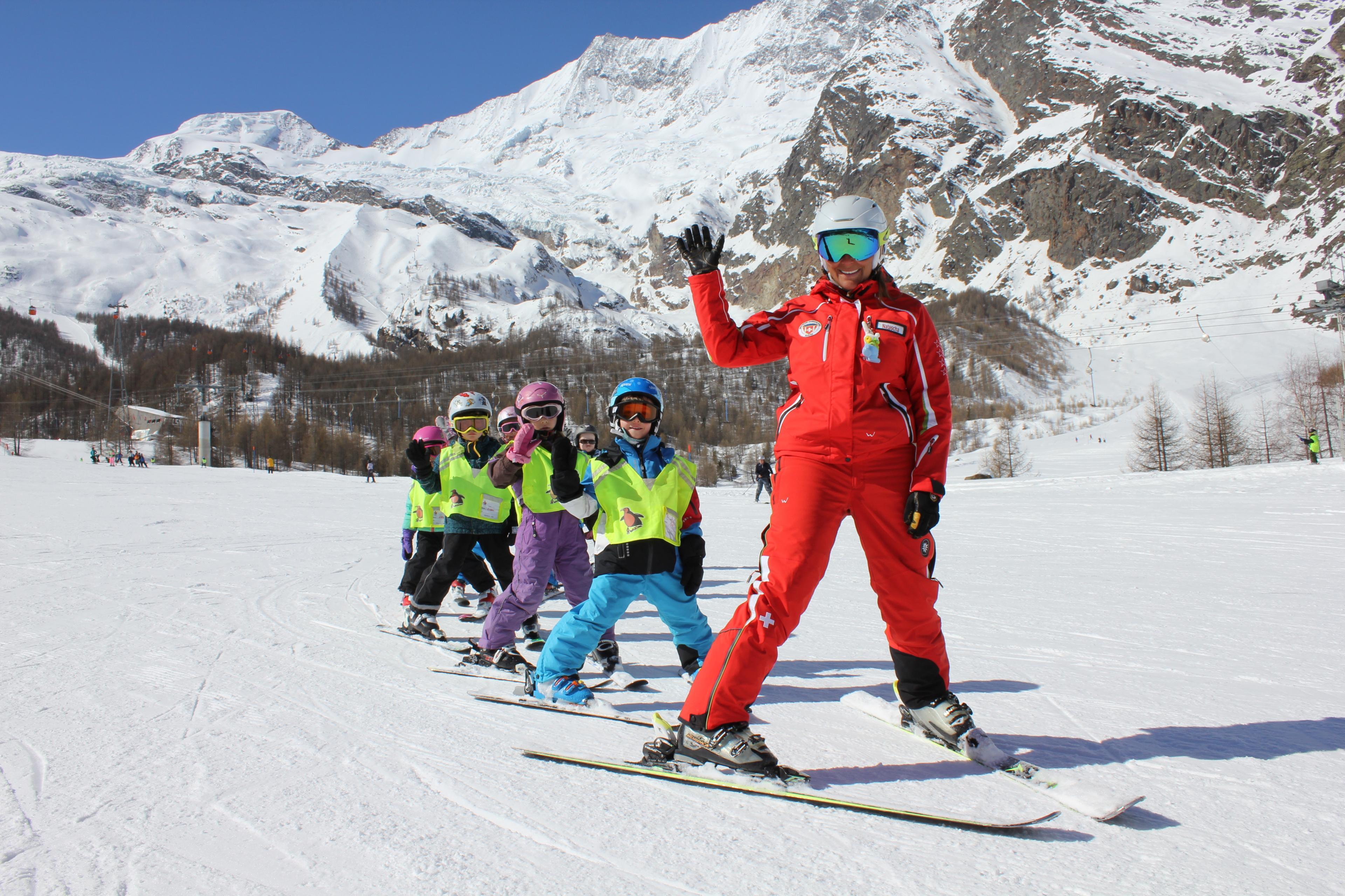 """Cours de ski Enfants """"Mini's"""" (4-6 ans)"""