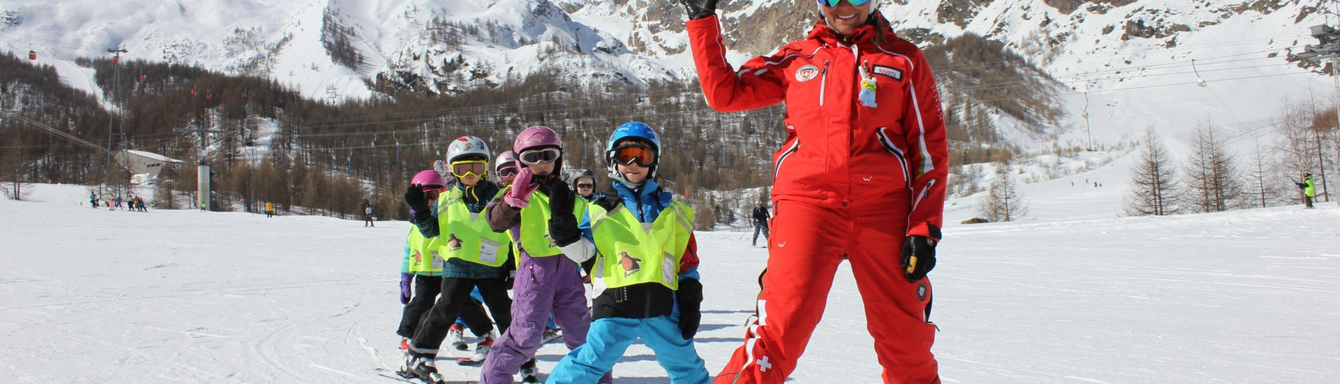 """Ski Lessons for Kids """"Minis"""" (4-6 years)"""