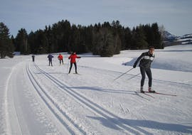 Cours de ski de fond dès 7 ans pour Tous niveaux