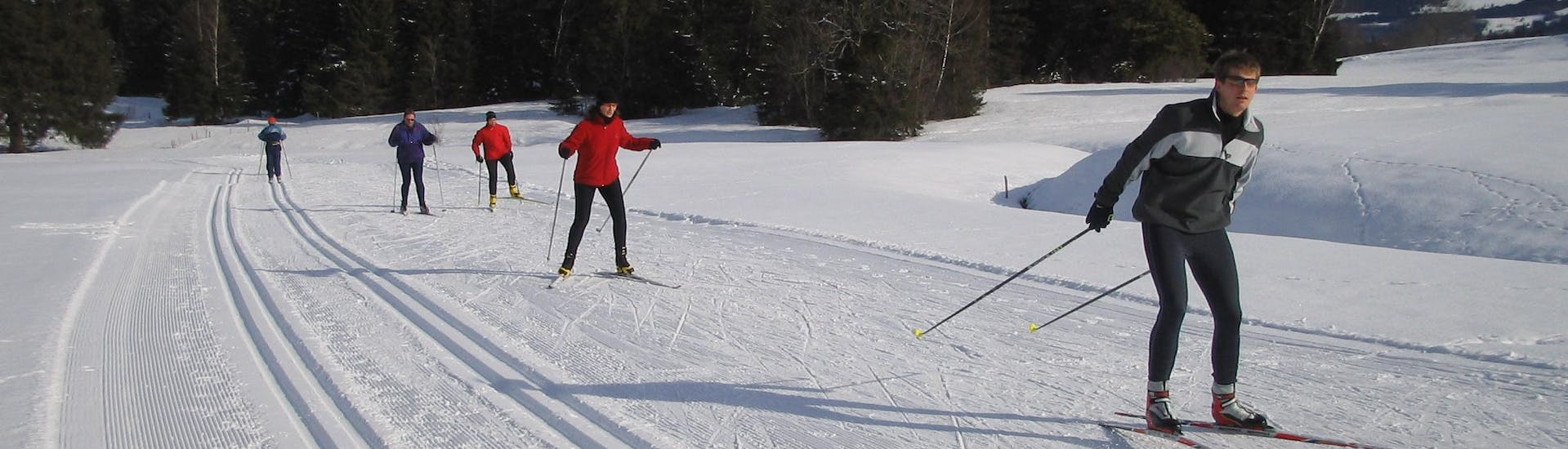 Cross Country Skiing Lessons for All Levels (from 7 y.) with Ski & Snowboard School Ostrachtal - Hero image
