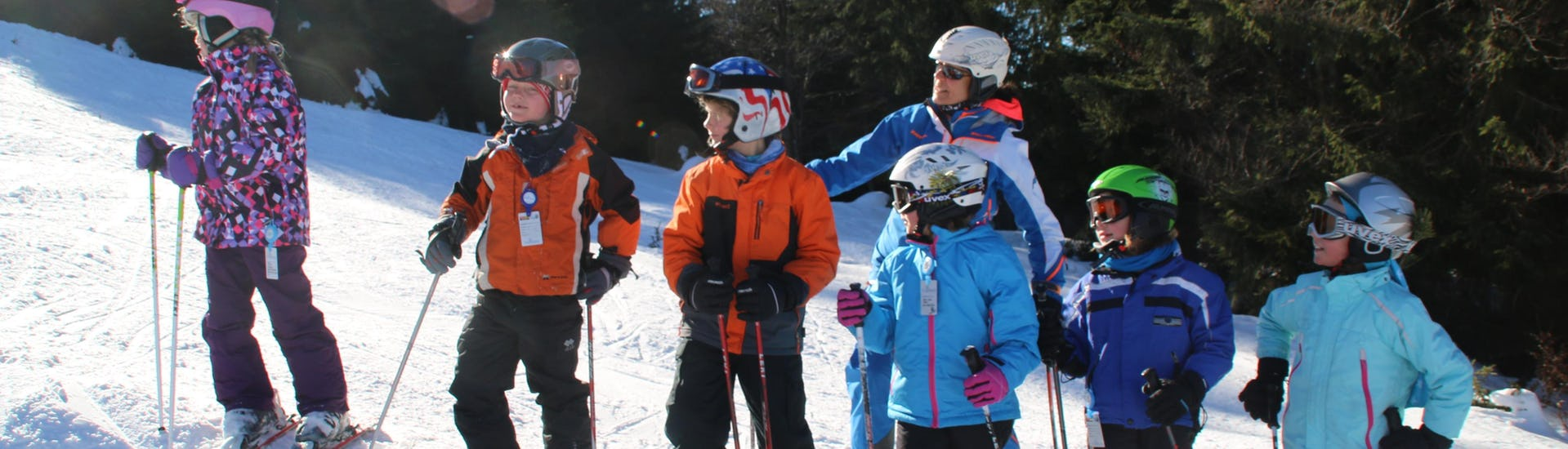 Ski Lessons for Kids (3-12 Years) - All in One