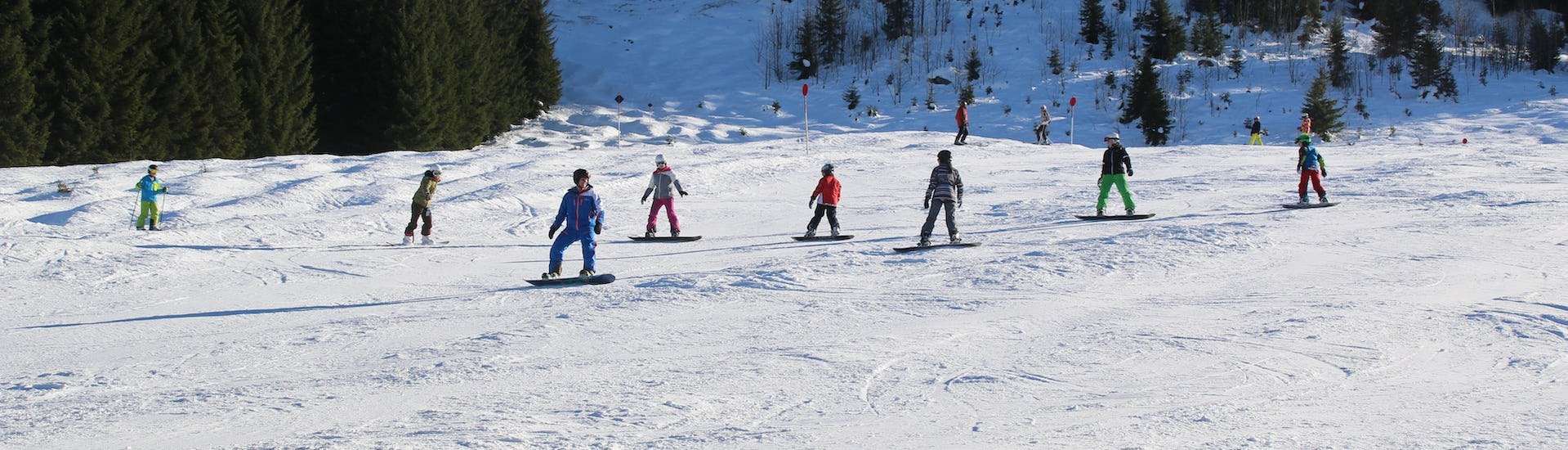 Snowboard Lessons Teens & Adults - All Levels