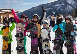"""Snowboard Lessons """"All-in-One"""" for Kids - All Levels"""