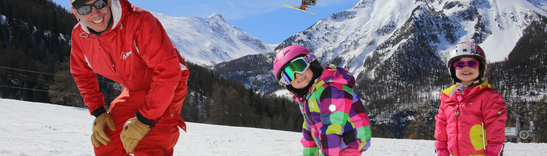 Kids Ski Lessons (6-13 years) - Low Season - All Levels