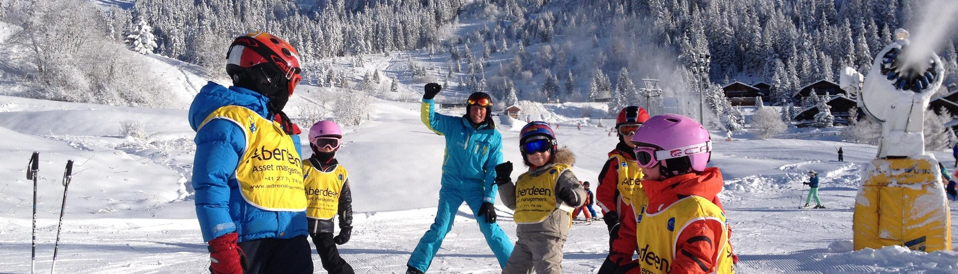 """Ski Lessons for Kids """"6 Max"""" - All Levels from 6 years-old"""