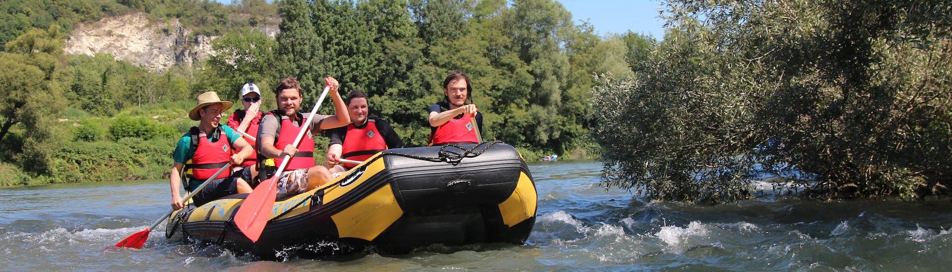 Soft Rafting auf dem Rhein - Fließender Rhein