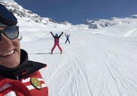 Cours particulier de ski Adultes pour Tous niveaux avec Ride'em Ski School Breuil-Cervinia