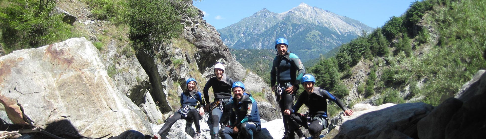 Canyoning in the Chalamy - Test Yourself, Sporting Spirit