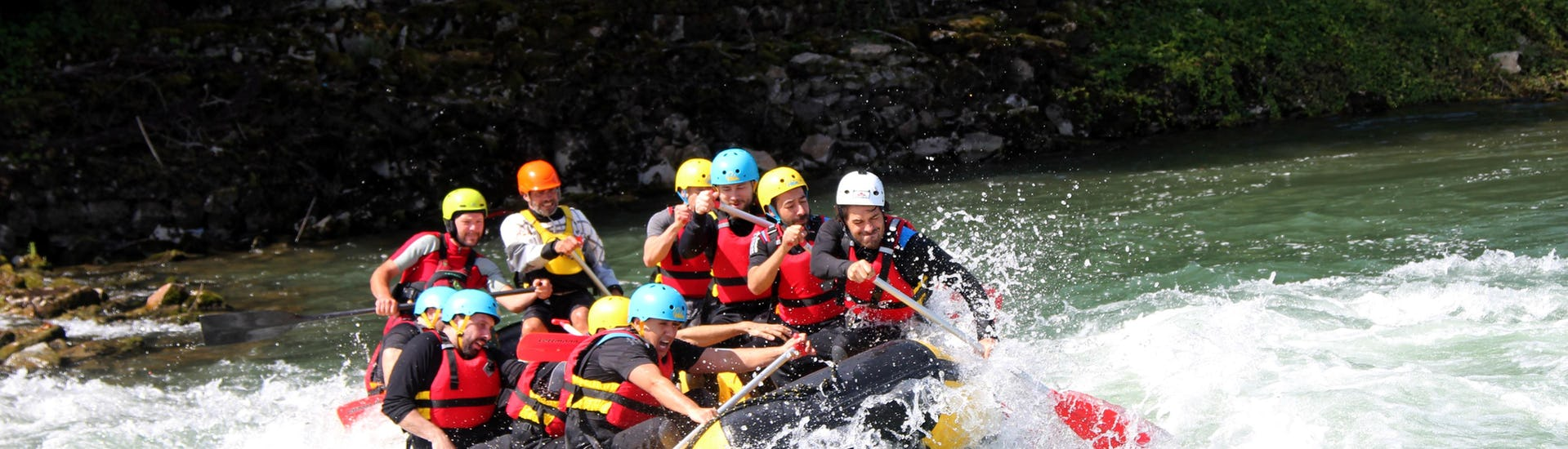 Rafting on the Rhine - Wild Rhine