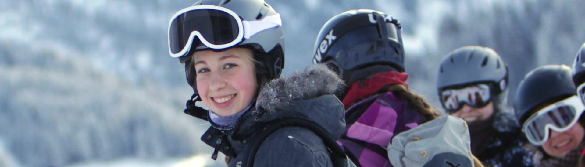 Ski Lessons for Teens (13-15 years) - All Levels