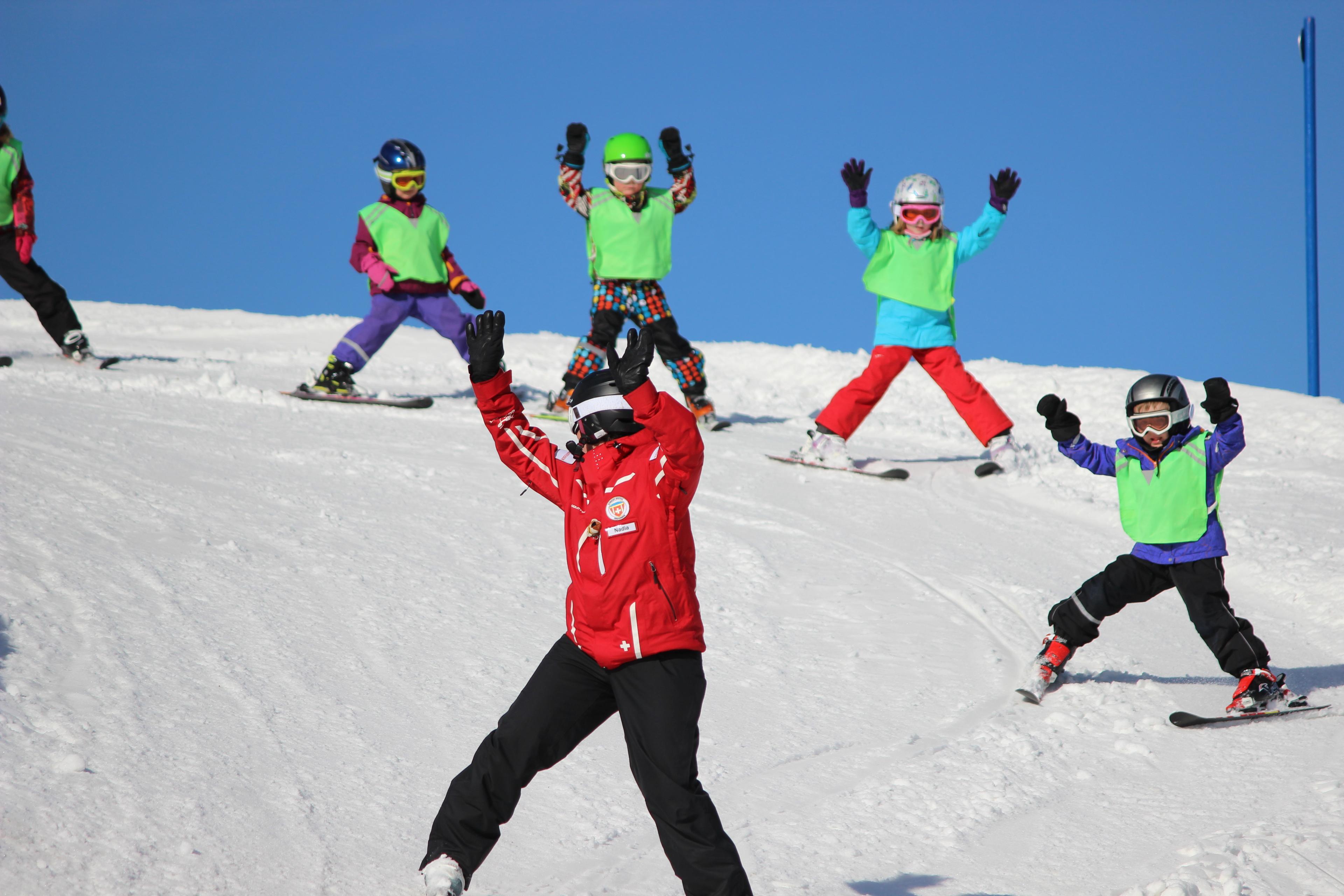 Premier Cours de ski Enfants (3-16 ans)