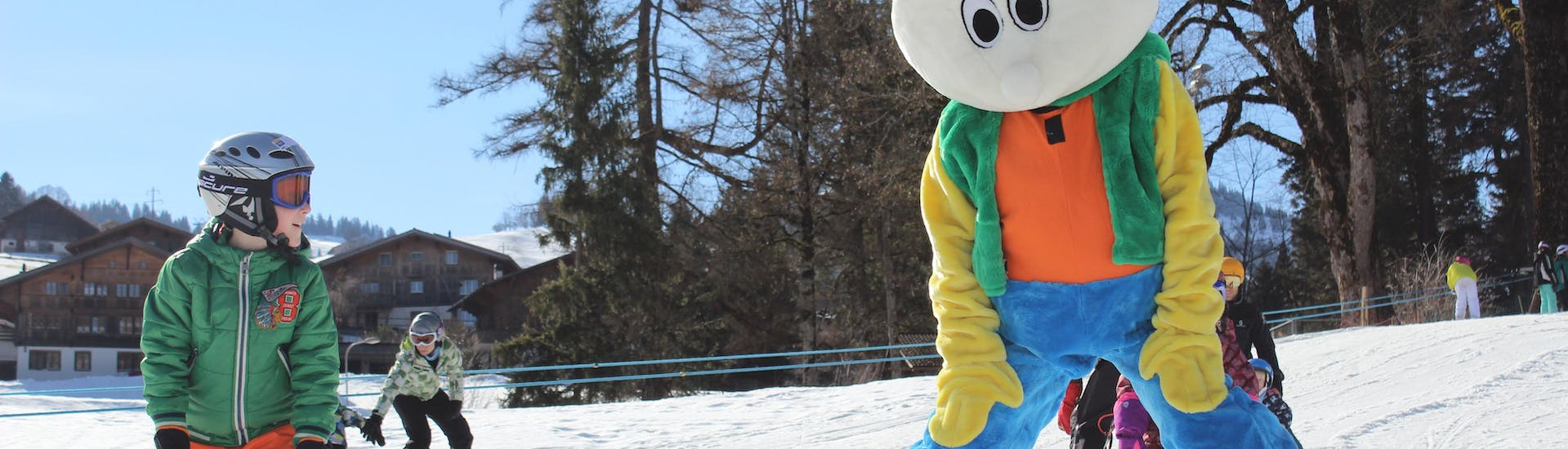 Kids Ski Lessons (3-16 y.) for First Timers - Weekend with Swiss Ski School Zweisimmen - Hero image