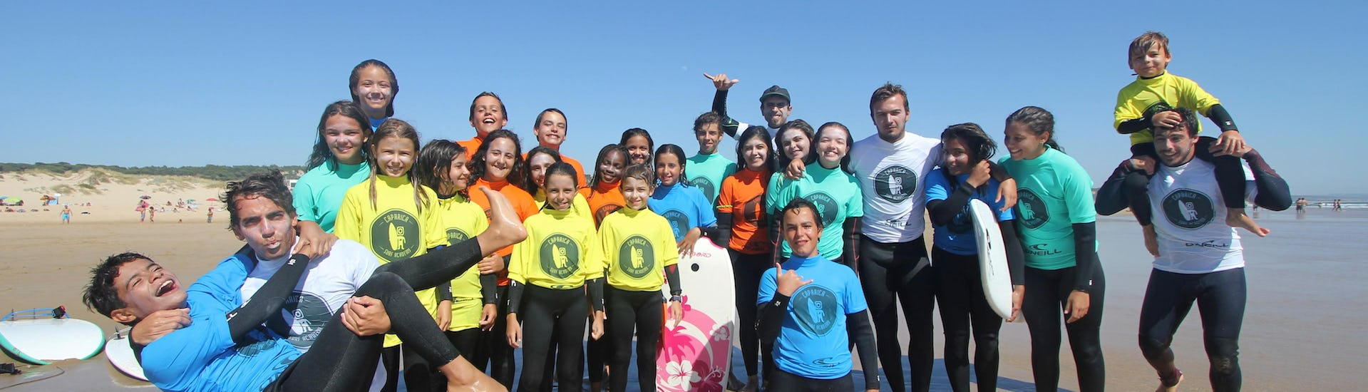Surfing Lessons for Kids (3-7 Years) - All Levels