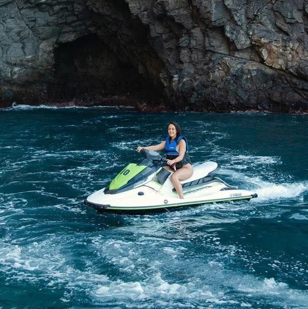 Jet Ski from Torviscas Beach around Costa Adeje