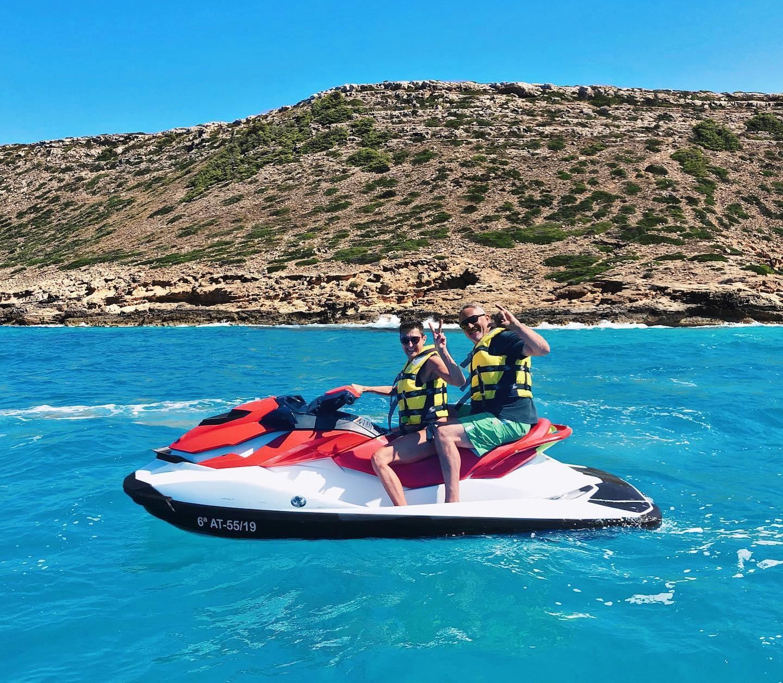 Jet Ski in Palma de Mallorca at Cala Gamba