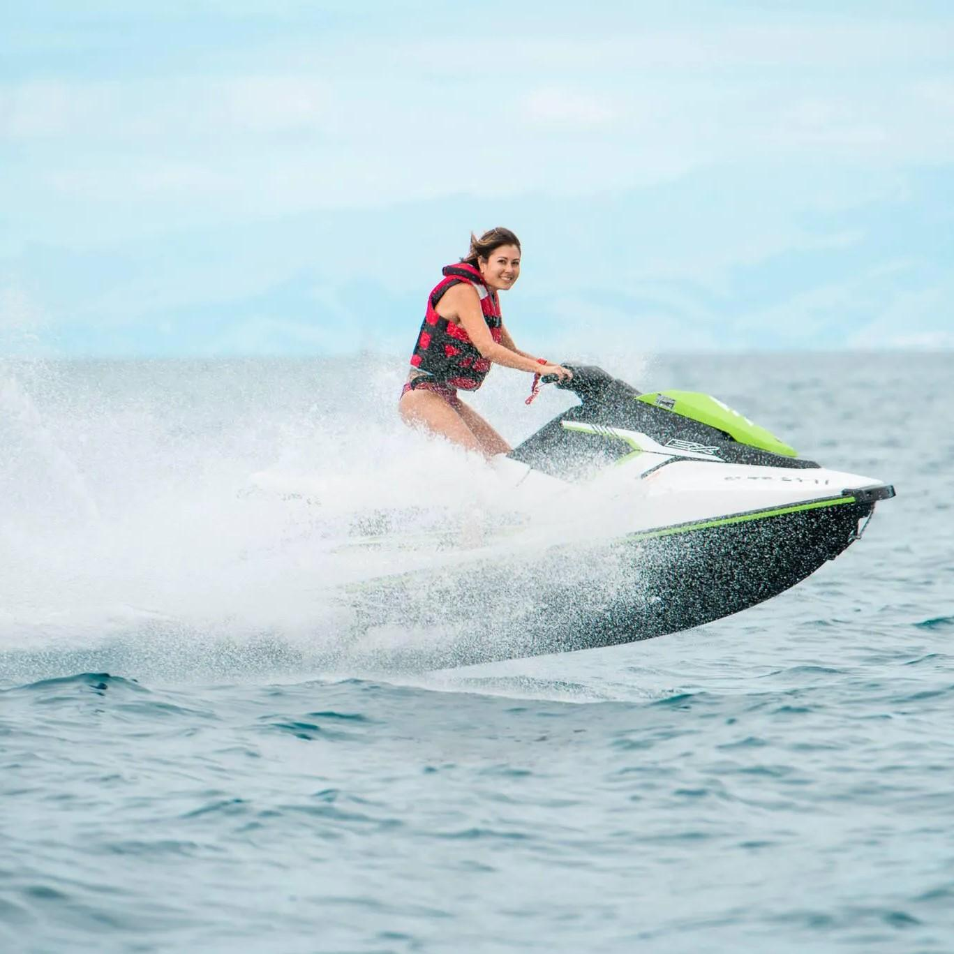 Jet Ski from Troya Beach to Torviscas Beach in Costa Adeje