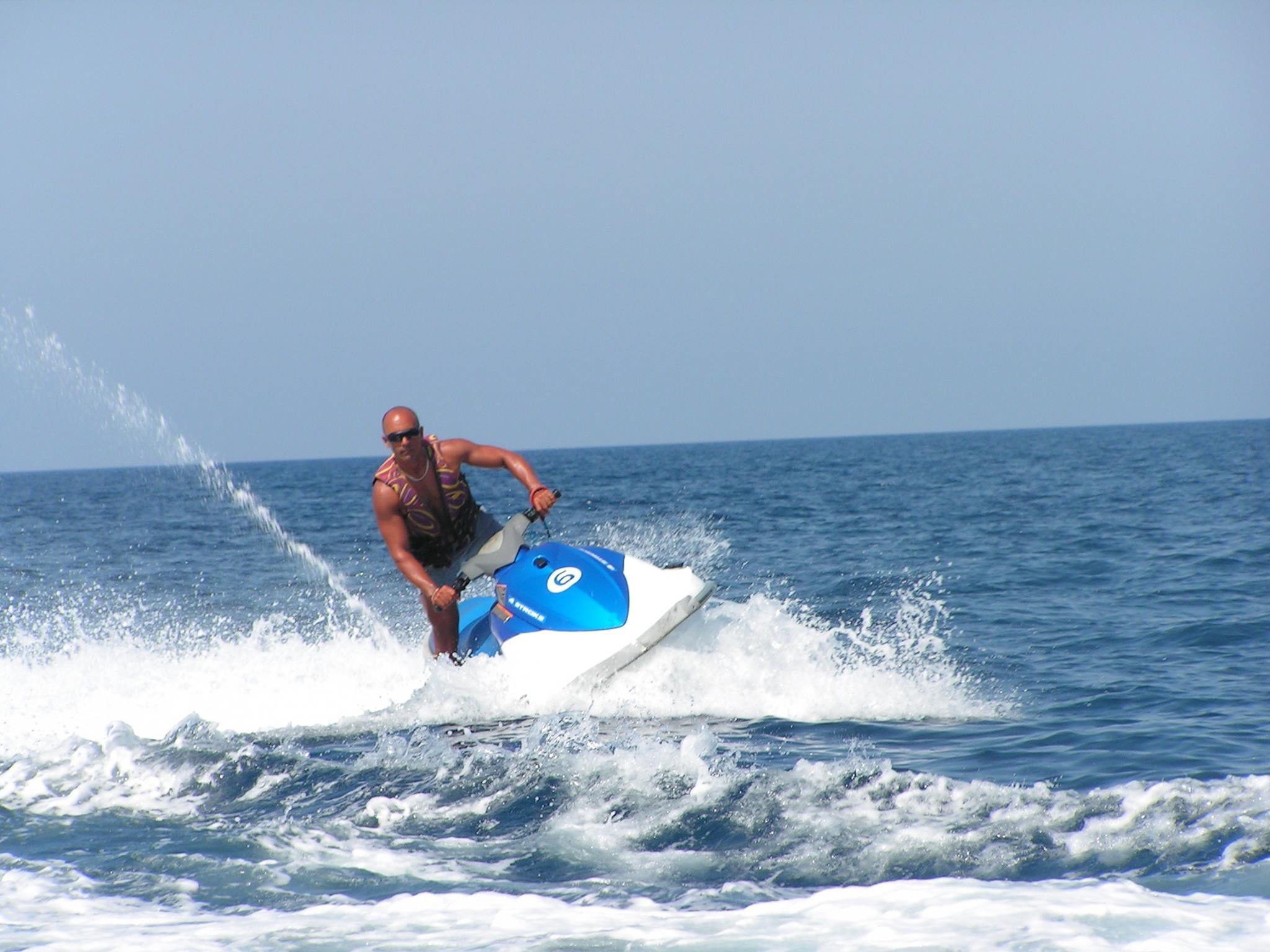 Jet Ski in St George's Bay