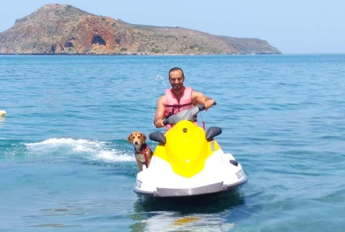 Jet Ski Safari to Thodorou Island from Agia Marina (Chania)