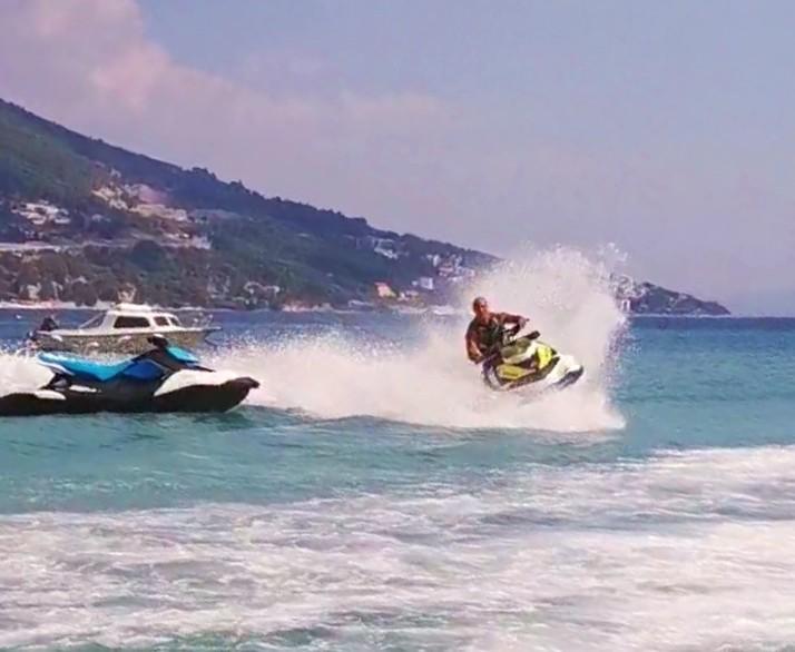 Jet Ski on Velika Beach in Omiš