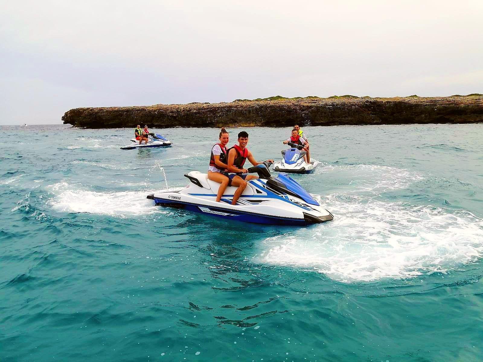 Jet Ski in Cala Bona