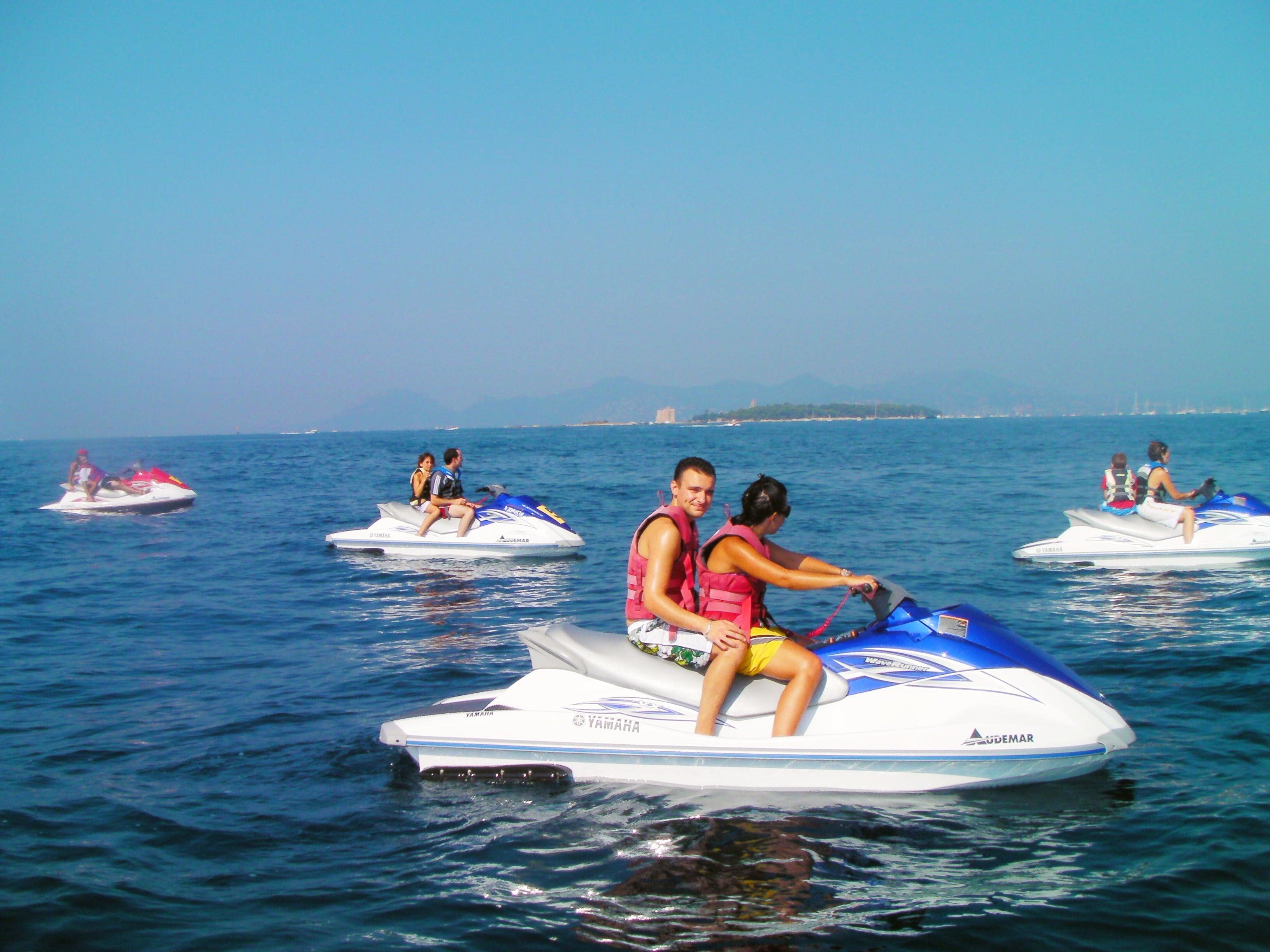 Jet Ski Safari from Nice to Lerins Islands, near Cannes
