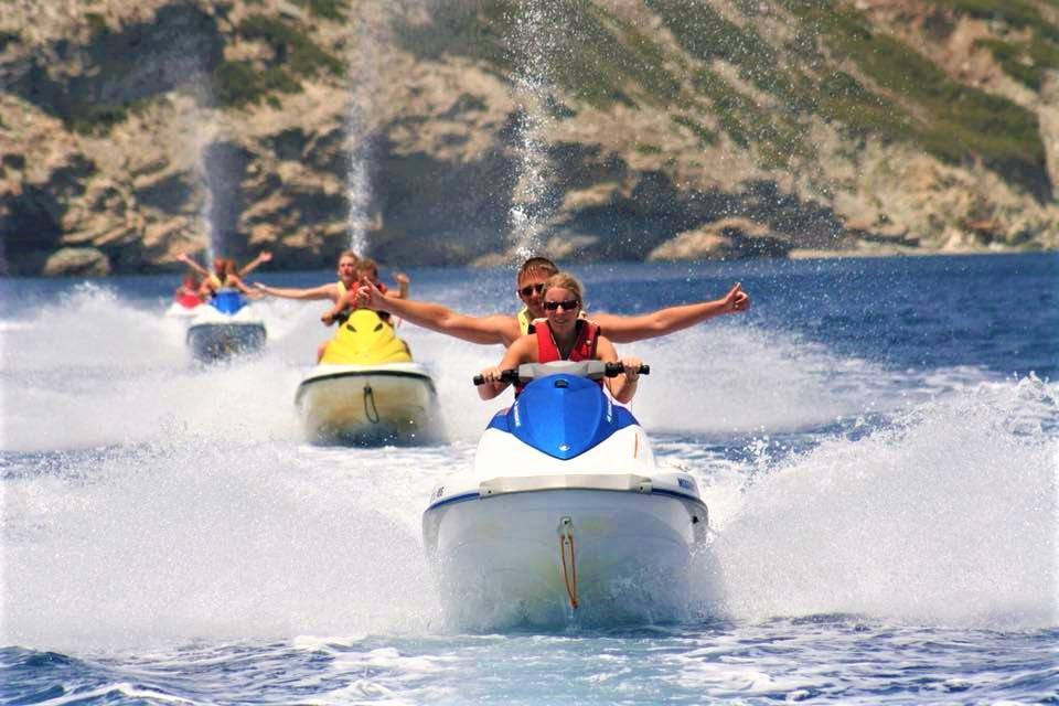 Jet Ski Safari in Heraklion Bay with Snorkeling