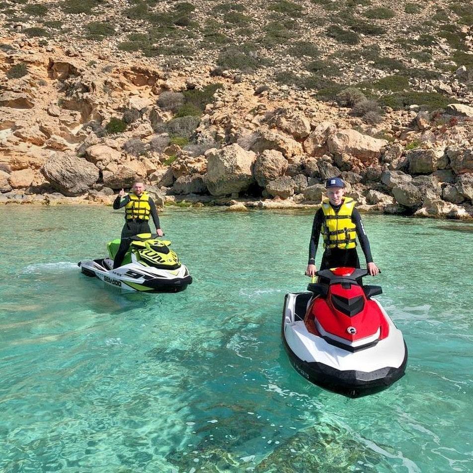 Jet Ski Safari to the Los Deltas Nature Reserve from Palma