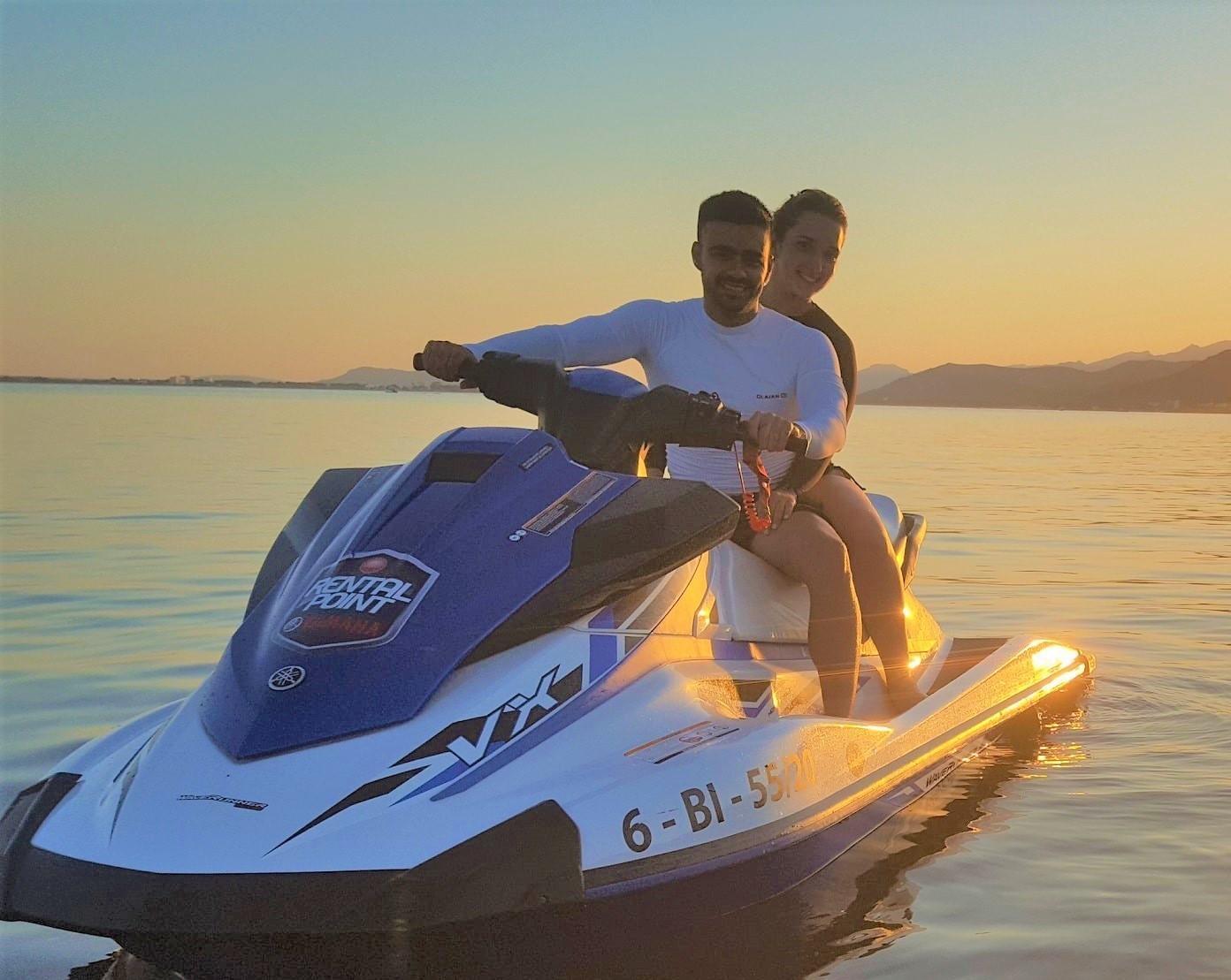 Sunset Jet Ski Safari around Alcúdia